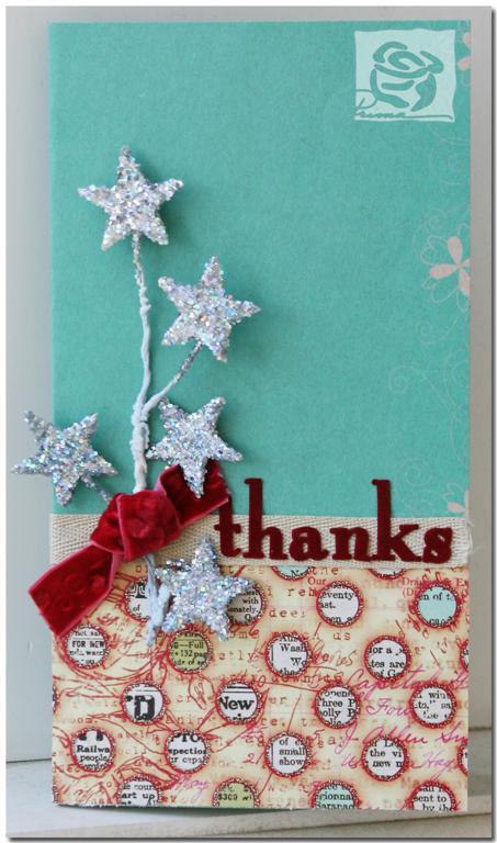 Thanks card (Large)