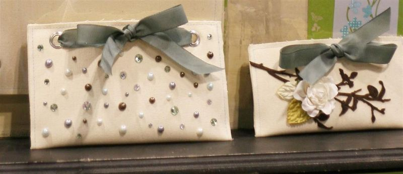 Canvas clutches (Large)
