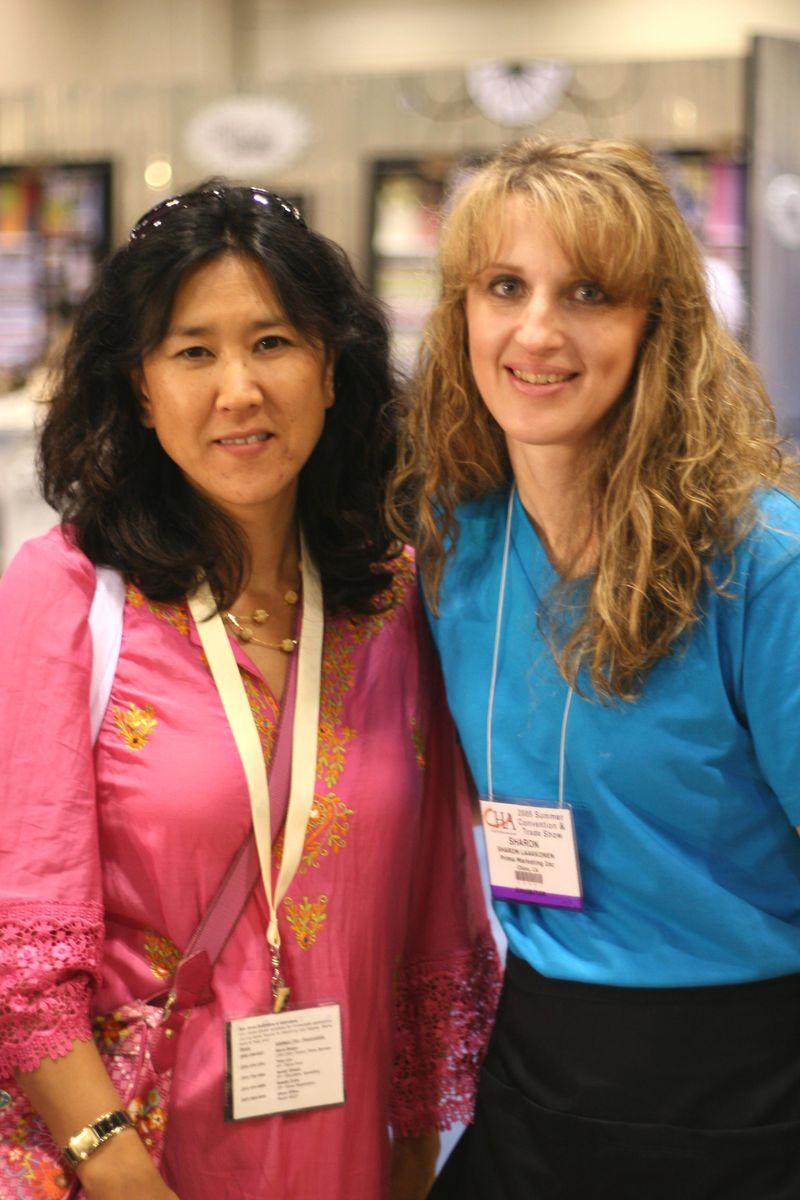 Sharon and customer