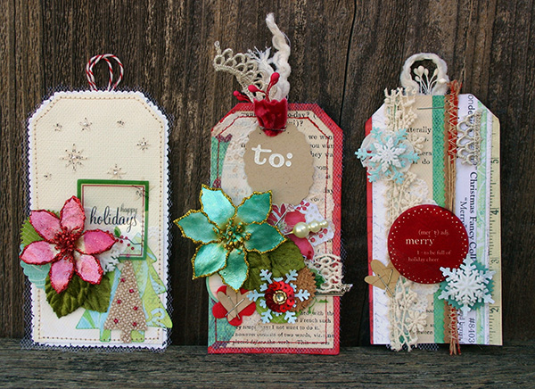 Amy Parker Holiday tags