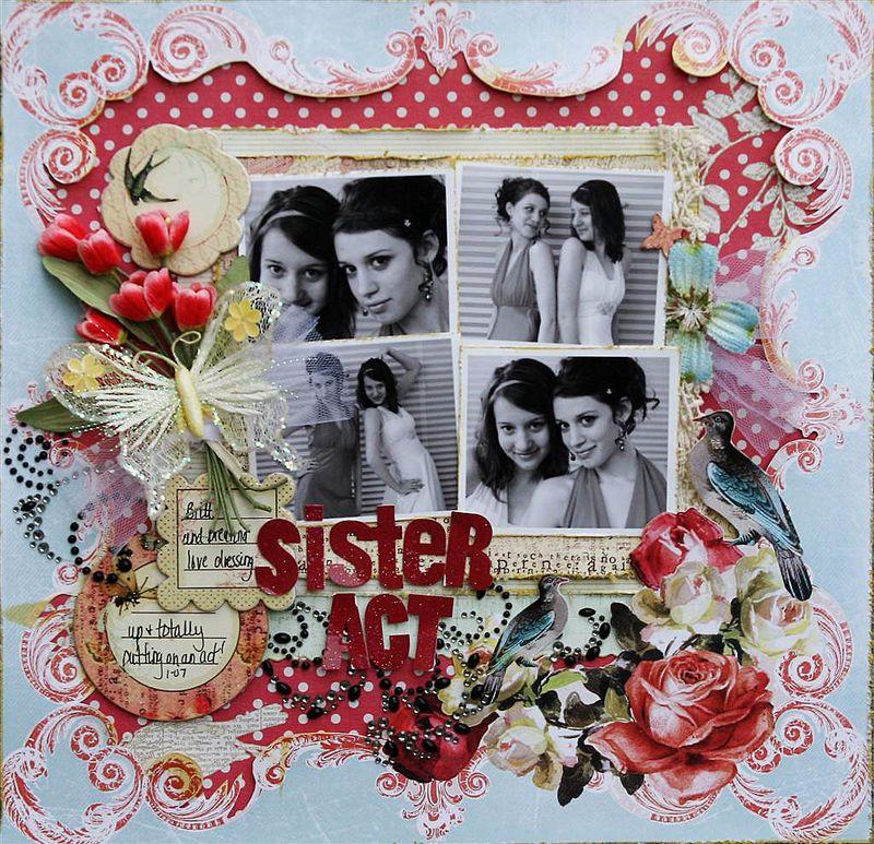 Sharon Sister Act (Large)