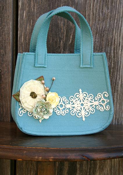 AmyParker Book Voila Felt Project Bag Side 2