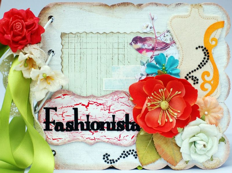 Janine Fashionista Mini Album Cover