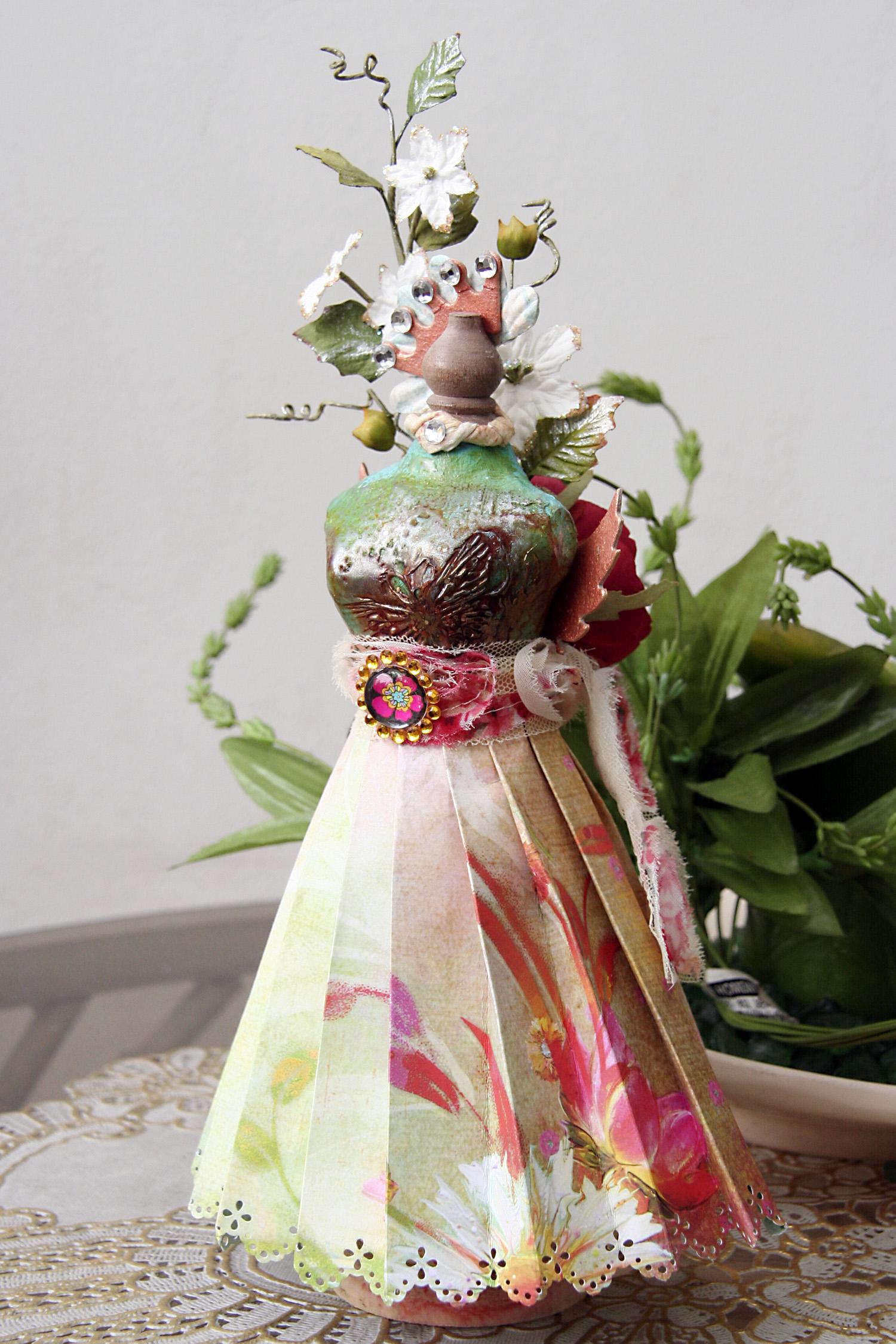 Fairy Flora Mannequin iris