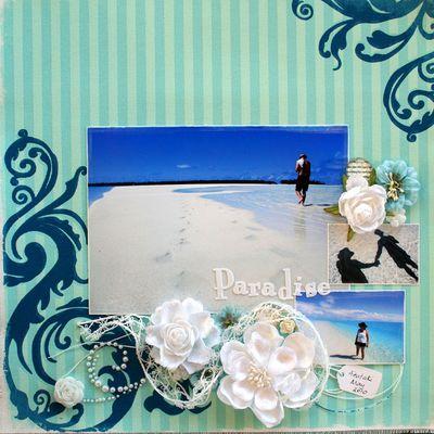 Canvas-trina Paradise