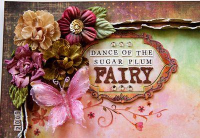 Fairy flora Dance of the Sugar Plum Fairy close-up