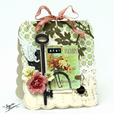 Cards ingvildbest wishes - canvas album card 1000 pix w wm