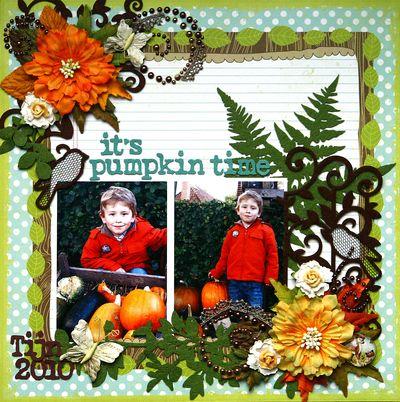 Halloween birgit pumpkin time