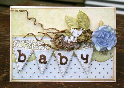 Banner card NicH baby