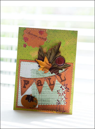 Banner liana Fall banner card