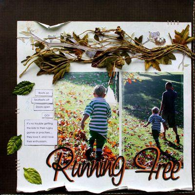 Fall trina Running-free