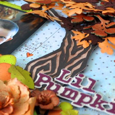 Paperpiecing jamied Lil Pumpkin 2