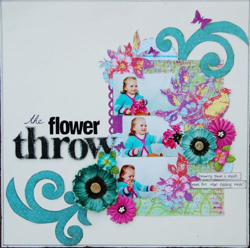 JanineThe Flower Throw