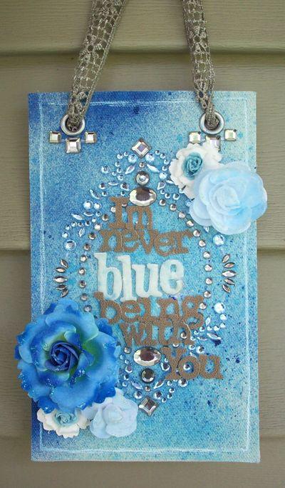 Crystal alyssa blue