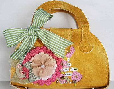 Canvas sharon purse