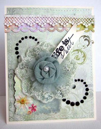 Flower daniela card life