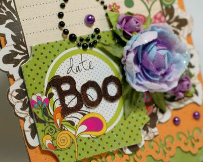 Halloween anabelle boo card cl