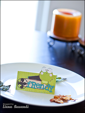 Thanksgiving liana . Place cards. frendy.w