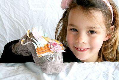 Trina sock-puppet-&-Sarah