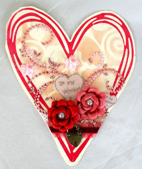 Trinkets trina Valentine-card