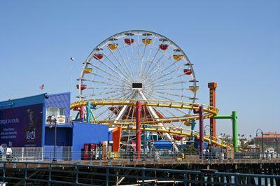Ferris wheel sized