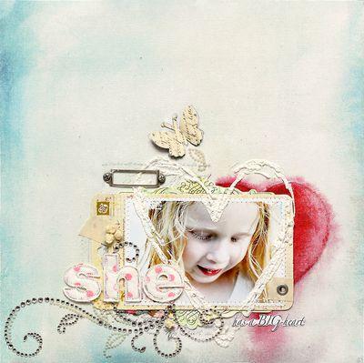 Dd canvas ingvild she has a big heart