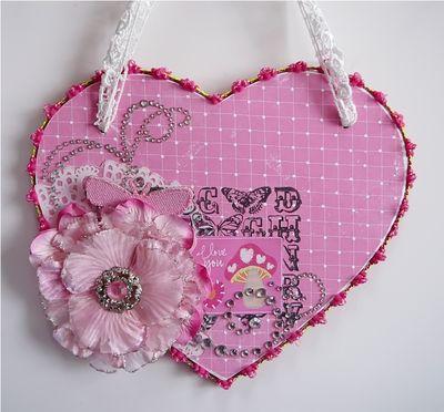 I love you - wall hanging amanda