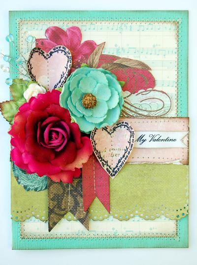 Card - My Valentine janine
