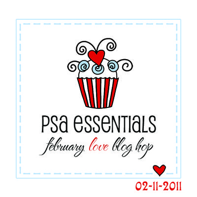 PSA Blog Hop Badge love