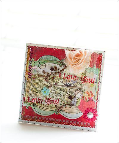 P_I love you card