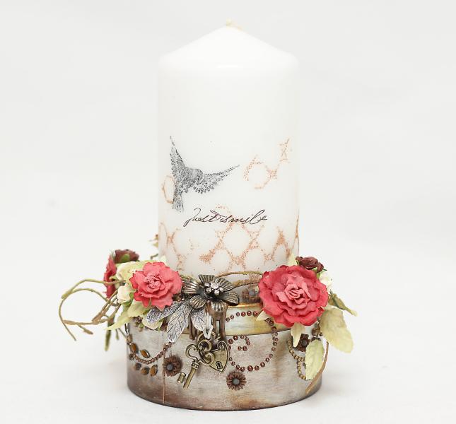 Mother ingvild candleholder2withcandle1000