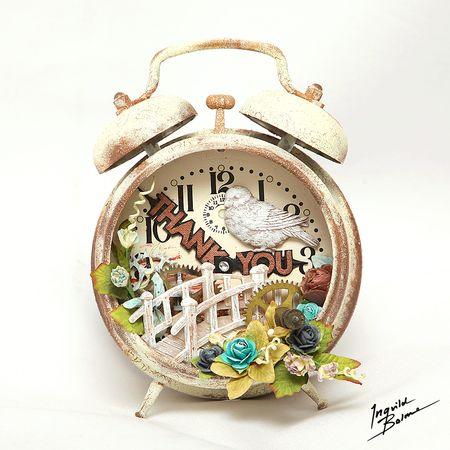 Resins ingvild alarm clock 1000 w wm