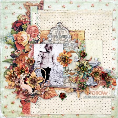 Amore trudiCHA Project Romantique Collection Layout by Trudi Harrison-1