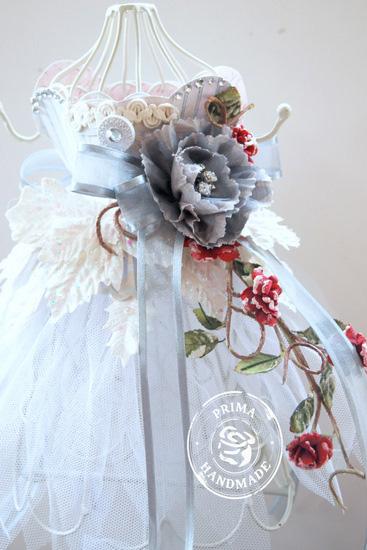 Trudi P CHA Project - Altered Dress Form Detail by Trudi Harrison
