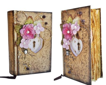 From the Heart Altered Book
