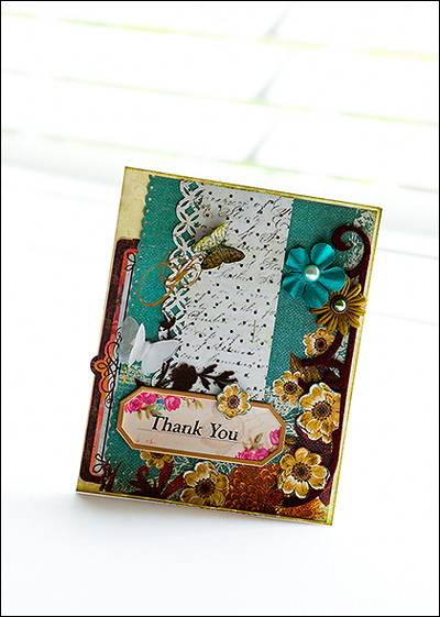 P.Thank you card