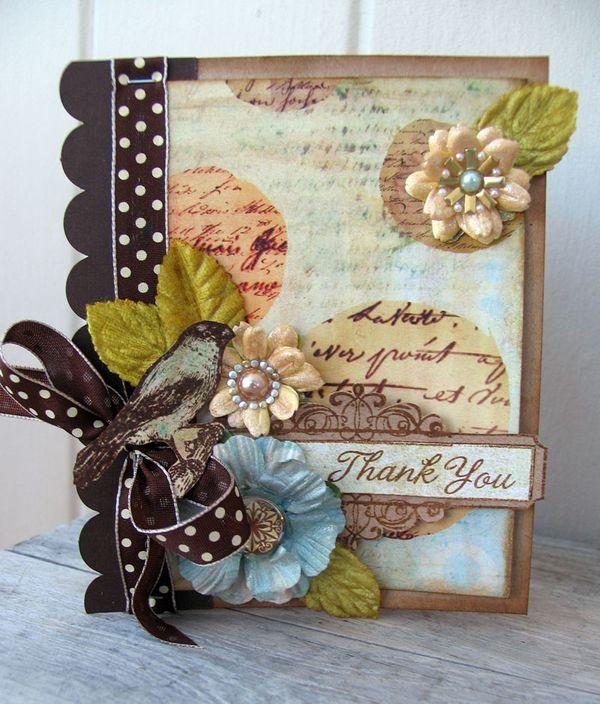 beautiful card ideas  prima
