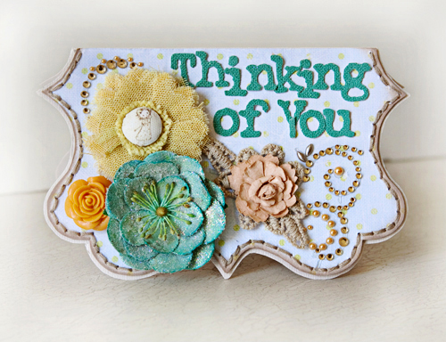 Ppp stacy cohen Thinking of You card