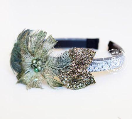 Stacy Headband Feathers 2