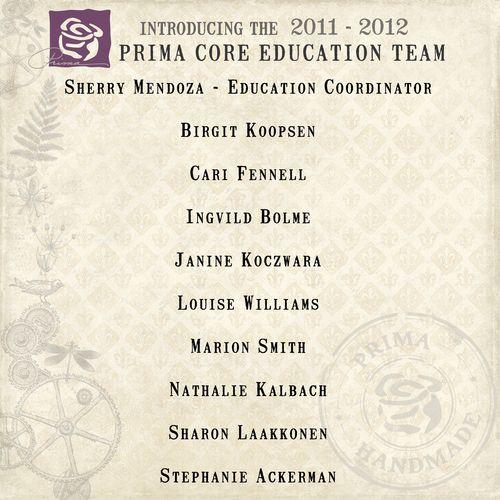 Education team banner