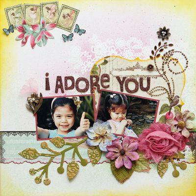 I Adore You iris mf