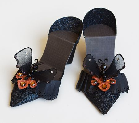Halloween shoes sized