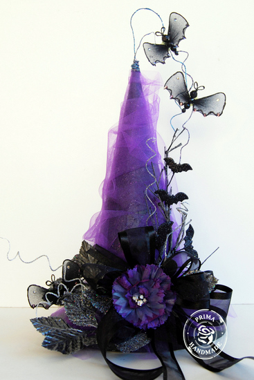 P Project Witches Hat by Trudi Harrison