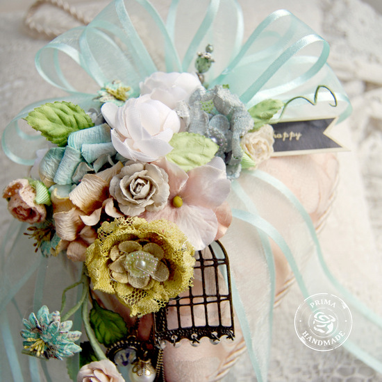 P Flower Feature - Home Decor Heart Detail - Trudi Harrison