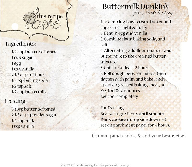 23 nov heidi Buttermilk Dunkins