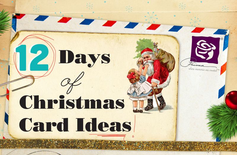 12 days of xmas cards