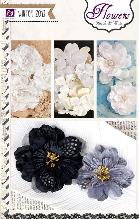 Flowers BW_1