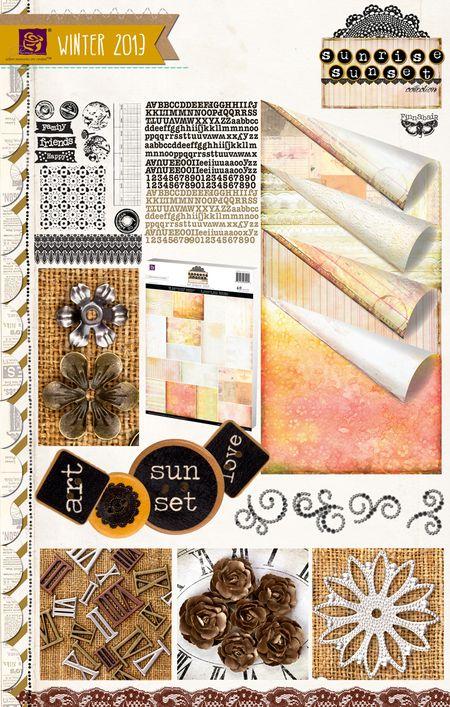 "Prima JACK /& JILL ~* PRECIOUS *~ Embellishment Chipboard Alphabet Letters 1.5/"""