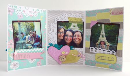 Cafe creativo - Sizzix-Prima - mini album card - frends (2)