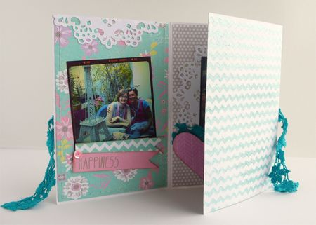 Cafe creativo -  Sizzix-Prima - mini album card - frends (3)